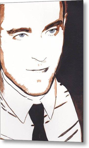 Robert Pattinson 11 Metal Print