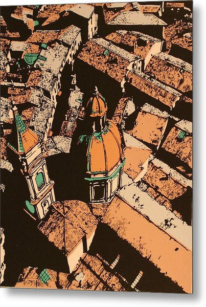 Roofs Of Bologna Metal Print by Biagio Civale