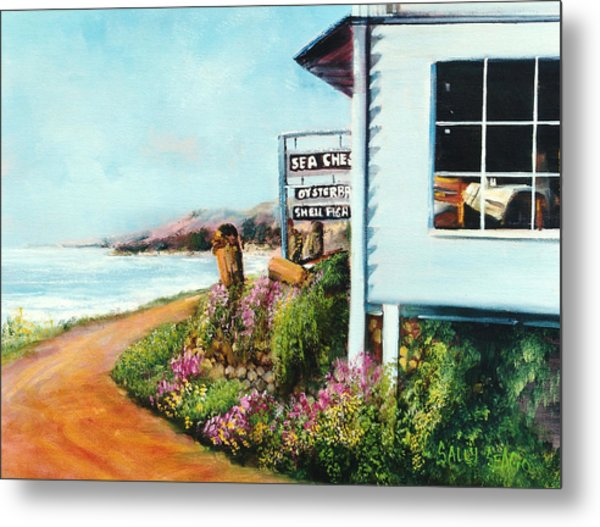 Sea Chest Metal Print by Sally Seago