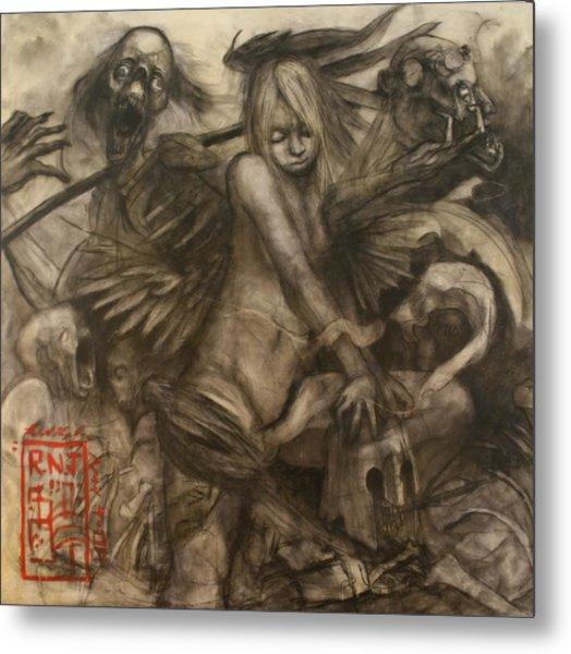 Solitairy Metal Print by Ralph Nixon Jr