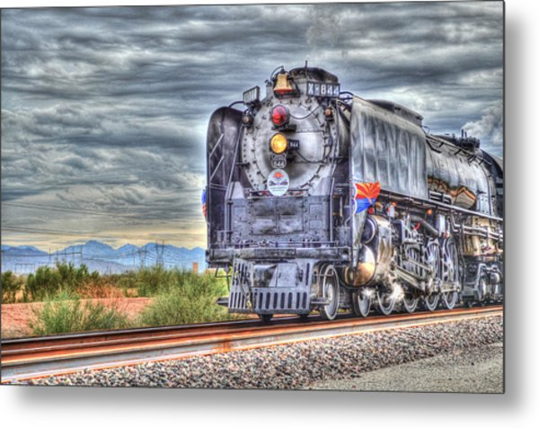 Steam Train No 844 Metal Print