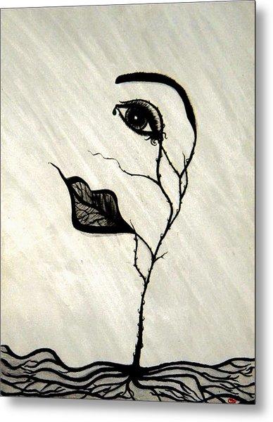 Still Standing Metal Print by Christine  Bennett