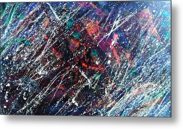 Summer Night Party Metal Print by Stephane Trahan