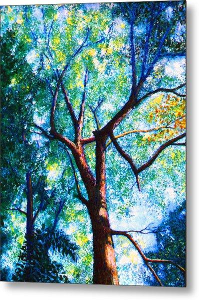 The Tree Metal Print by Stan Hamilton