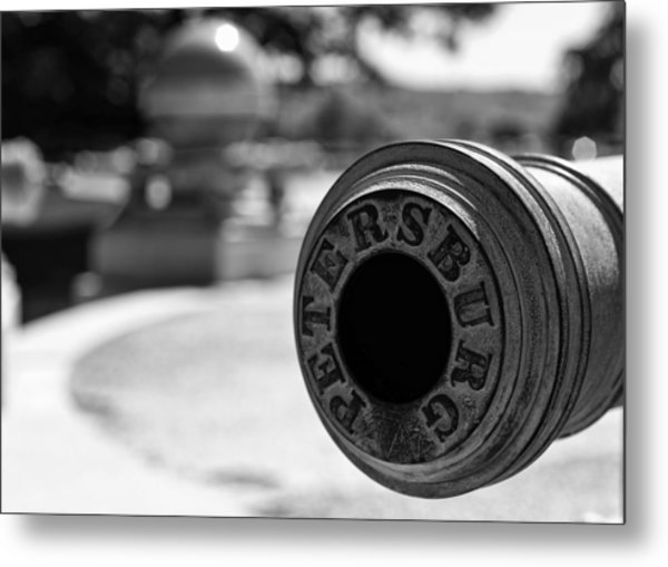 Trophy Point Cannon  Metal Print