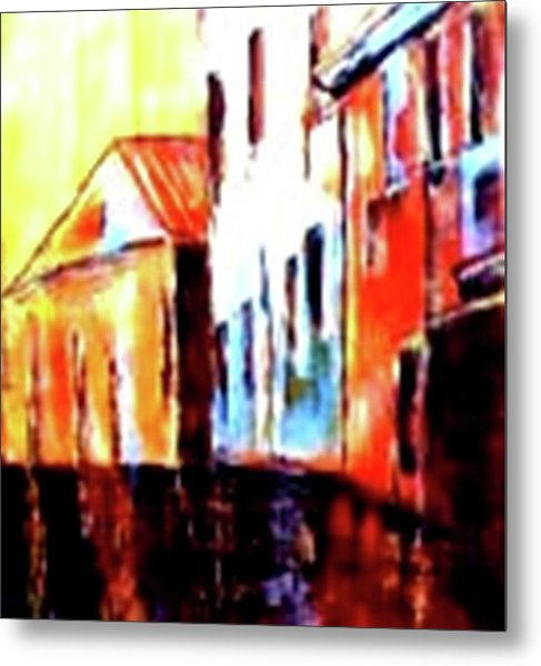 Venice Canal Cruise 1 Metal Print