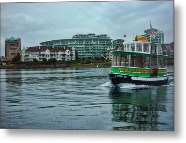 Water Bus Metal Print by Anastasia Michaels