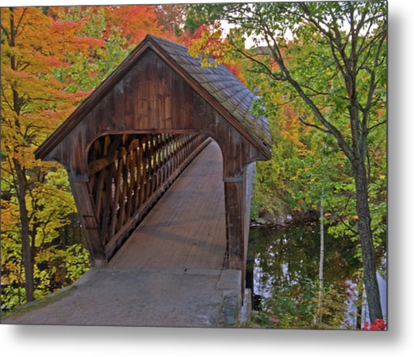 Welcoming Autumn Metal Print