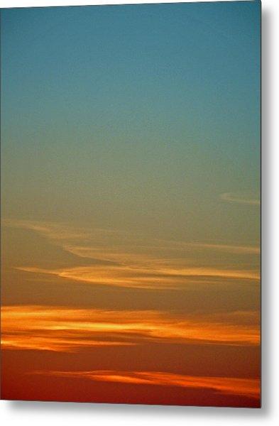 Huron Skies Metal Print