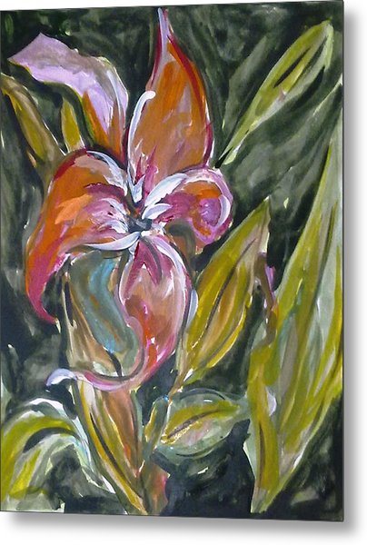 Love Flowers Metal Print by Baljit Chadha