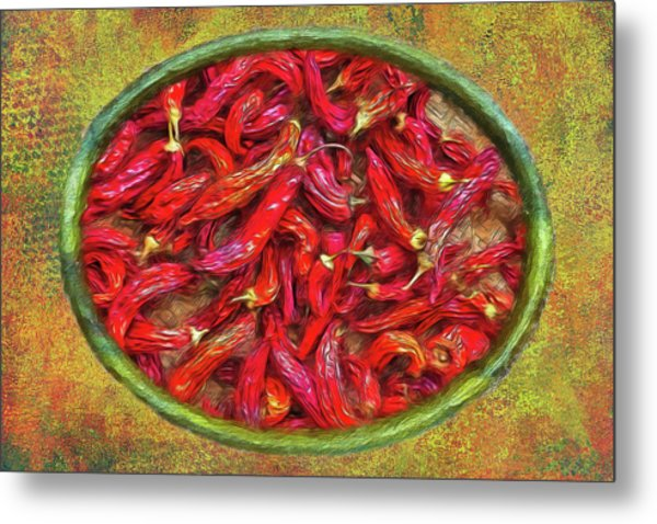 Red Hot Ready Metal Print