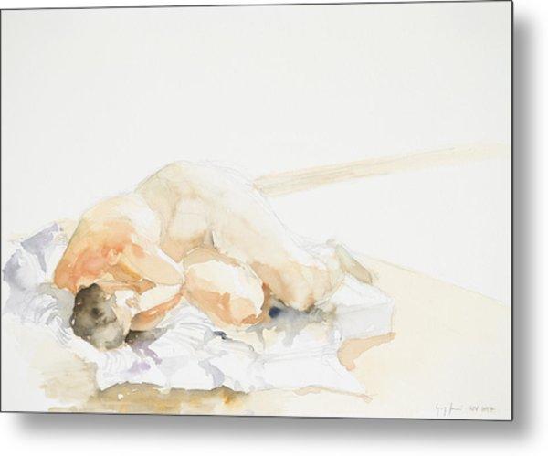 Nude Series Metal Print by Eugenia Picado