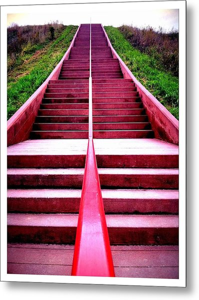 145 Steps To Monks Mound Metal Print by John McGarity
