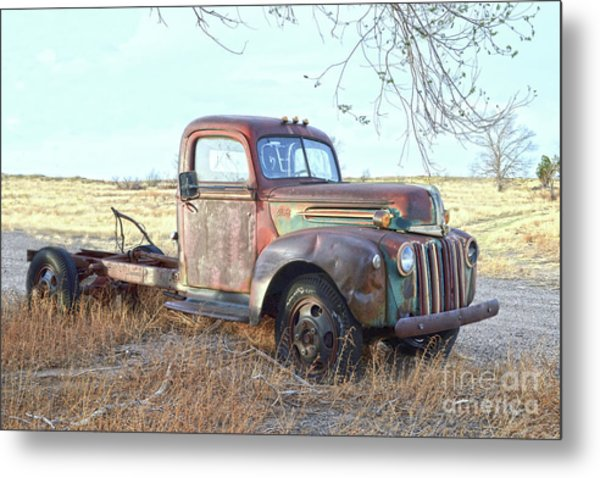 1940s Ford Farm Truck Metal Print