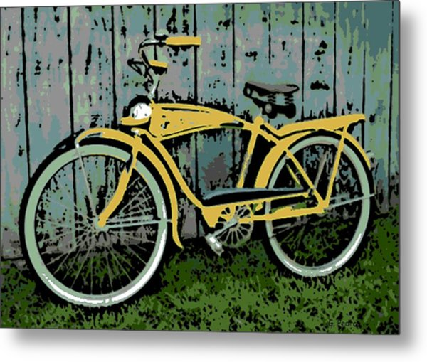 1949 Shelby Donald Duck Bike Metal Print