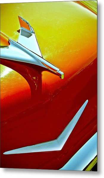 1956 Chev Bel Air Metal Print