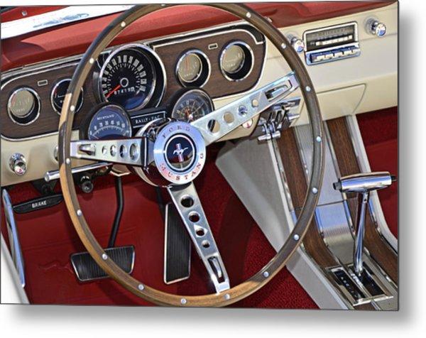 1966 Mustang Metal Print
