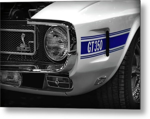 1969 Ford Mustang Shelby Gt350 1970 Metal Print