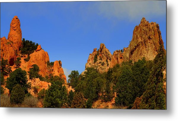 Garden Of The Gods Metal Print by Patrick  Short