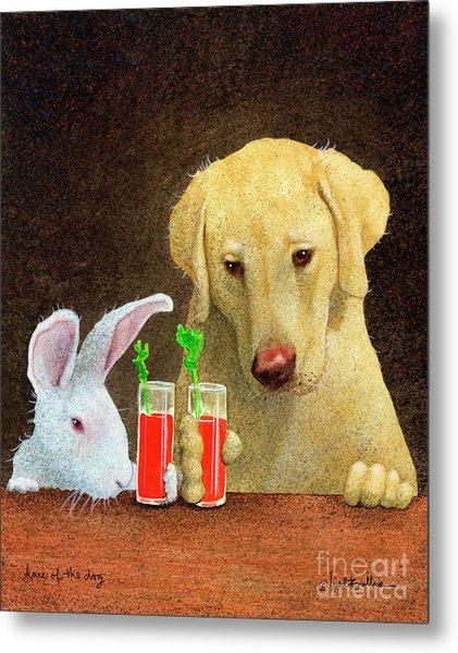 Hare Of The Dog... Metal Print