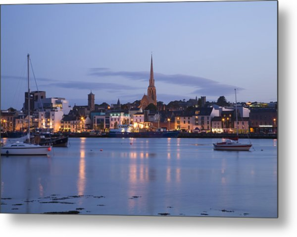 Irish Dusk Metal Print