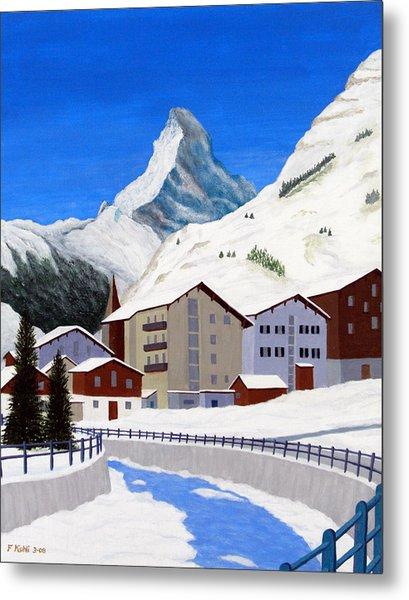 Matterhorn-zermatt Metal Print