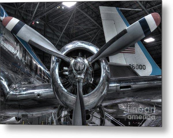 Pratt And Whitney R-2800 - Douglas Vc-118 - The Independence  Metal Print