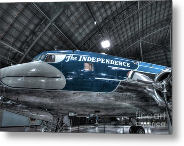 Presidential Aircraft, Douglas, Vc-118, The Independence  Metal Print