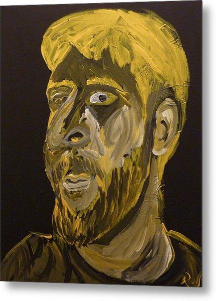 Self Portrait Metal Print