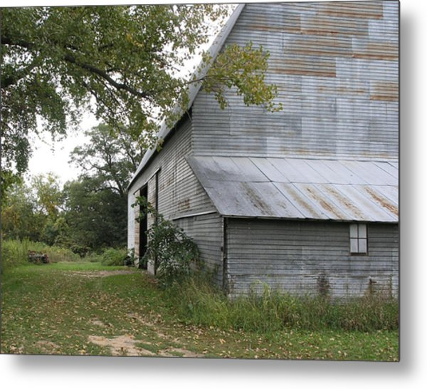 The Old Barn Metal Print by Janis Beauchamp