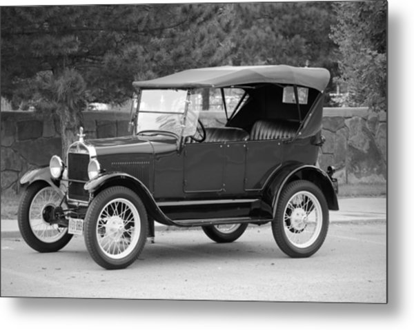 '27 T Touring Metal Print by Jon Rossiter