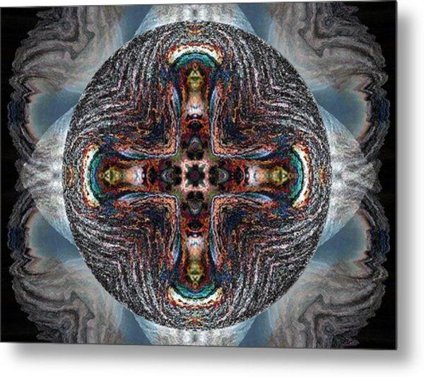 Spheres Metal Print by Raynard Cantwell