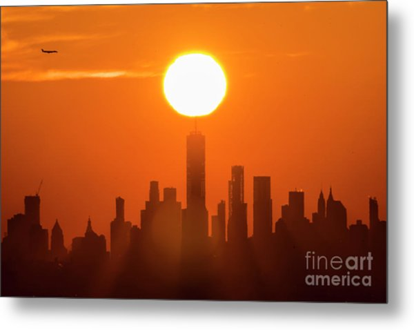 New York City Sunrise Metal Print