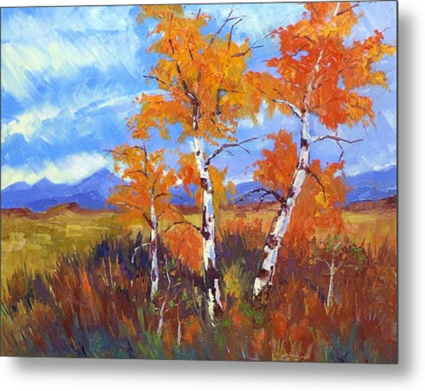 Plein Air Series Metal Print