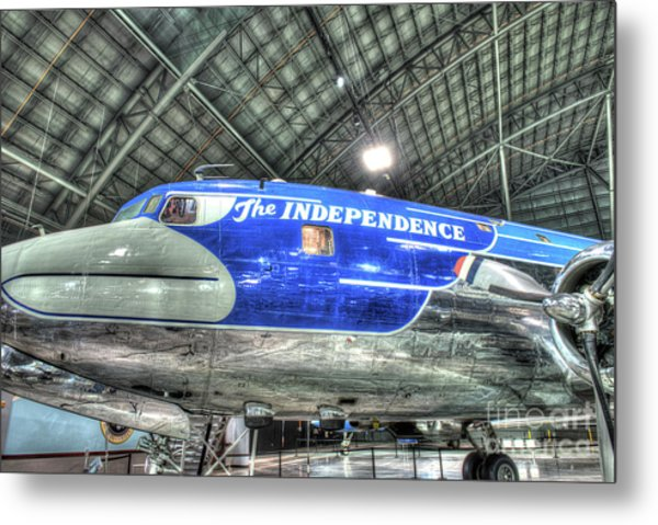 Presidential Aircraft, Douglas Vc-118, The Independence  Metal Print