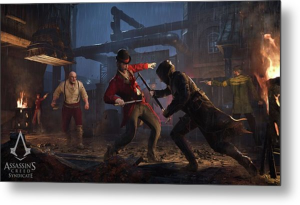 Assassin's Creed Syndicate Metal Print