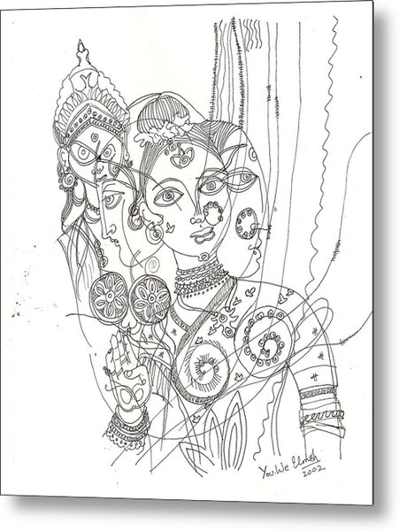 4 Deities Metal Print by Umesh U V