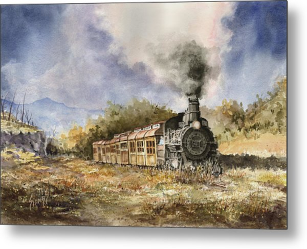 481 From Durango Metal Print