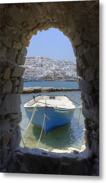 Paros - Cyclades - Greece Metal Print
