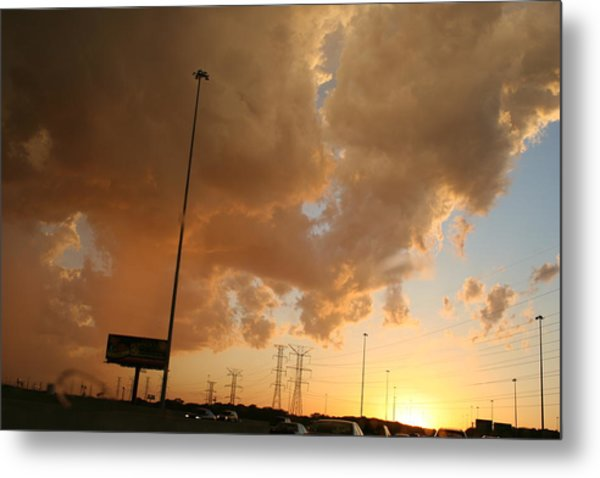 55 Sunset Metal Print by Gregory Jeffries