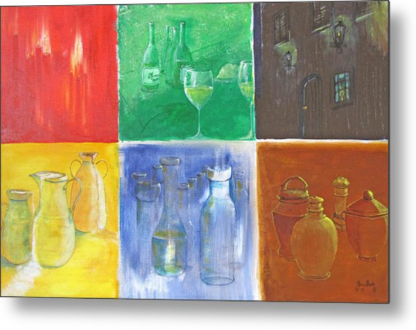 6 Panes Of Existence Metal Print