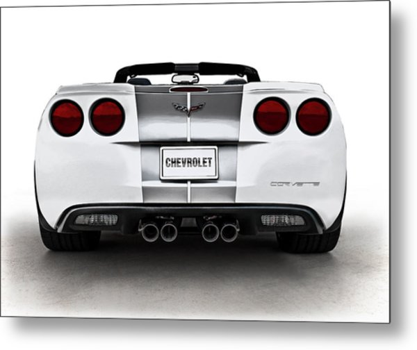 60th Anniversary Corvette Metal Print