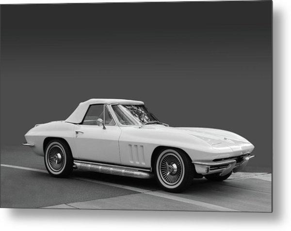 65 Corvette Roadster Metal Print