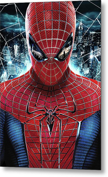 The Amazing Spider-man 2012 Metal Print