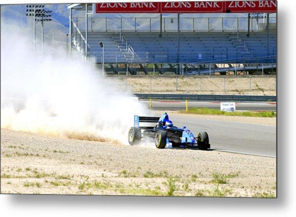 Utah Grand Prix Metal Print by Dennis Hammer