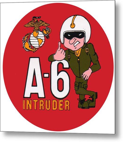 A-6 Intruder Metal Print