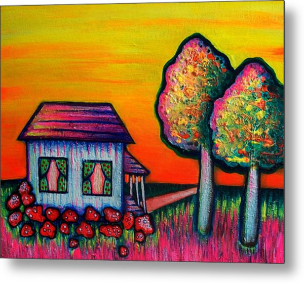 A Child's Dream Metal Print by Brenda Higginson