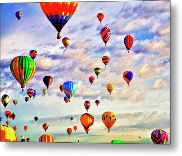 A Great Day To Fly Metal Print