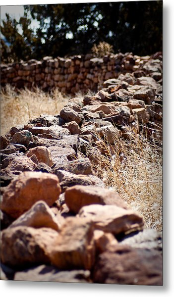 A Living Past Metal Print by Kandie  Kingery