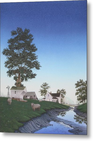 A Mid-summer's Eve Metal Print